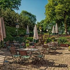 Gasthaus und Hotel Zur Henne, Biergarten