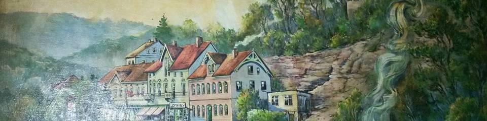 Historische Ansicht Loreleypromenade
