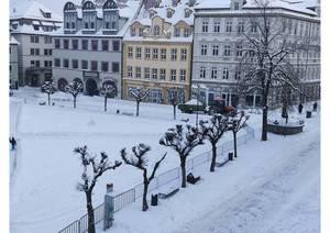 Wintereinsatz Marktplatz ©Stadtverwaltung Naumburg (Saale)