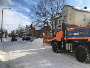Wintereinsatz Grochlitzer Straße 1 ©Stadtverwaltung Naumburg (Saale)