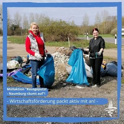 Müllaktion 'Rausgeputzt - Naumburg & Bad Kösen räumen auf'!