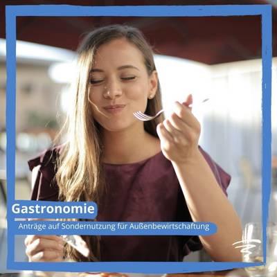Anträge auf Sondernutzung für Außenbewirtschaftung im öffentlichen Verkehrsraum (Gastronomie/Gewerbe)