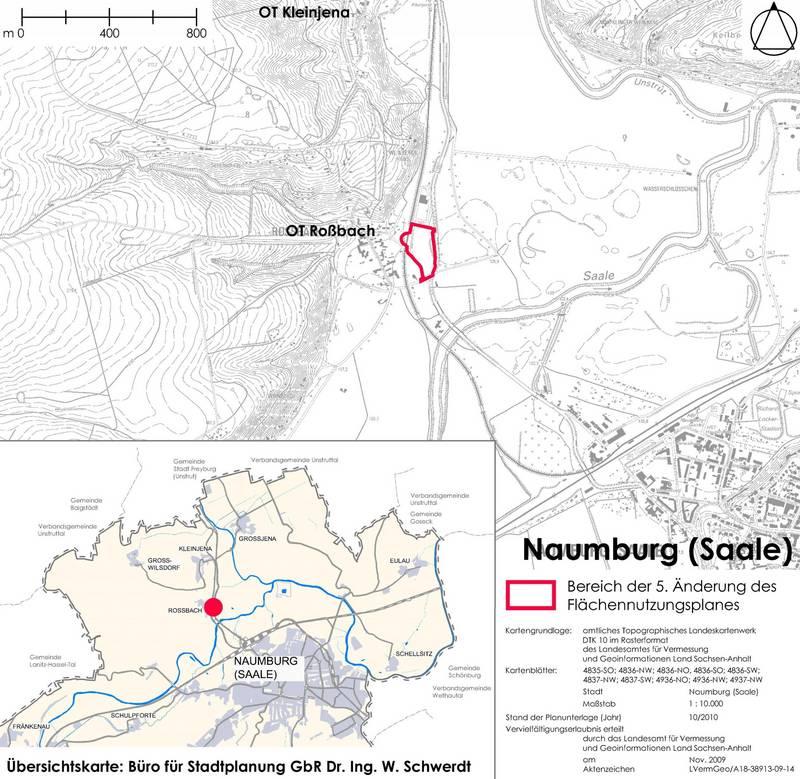 5. Änderung des Flächennutzungsplanes Naumburg (Saale)