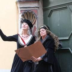 Naumburg: Ein Plausch mit der Bürgerfrau