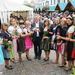 25.-27. August 2017: Naumburger Weinfest mit Töpfermarkt, WeinkulTor, Kunstmesse und Drehorgelfest