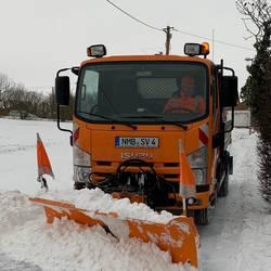 Schnee hat Naumburg fest im Griff ©Stadtverwaltung Naumburg (Saale)